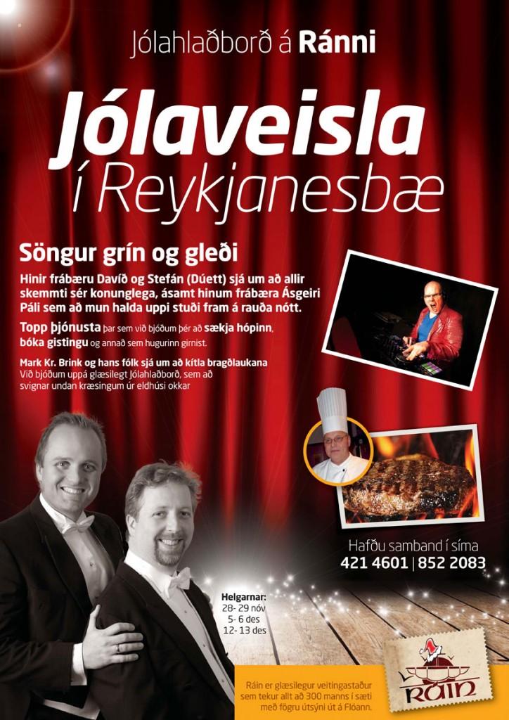 Jólahlaðborð á Ránni 2014